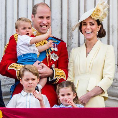 Prince Louis' Trooping debut, 2019