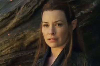 """In the second and the third [films] she's a new character who obviously comes into the stories,"" director Peter Jackson said of Evangeline Lilly's elf character. ""Yeah, she carries quite a decent sub-plot in the film."""
