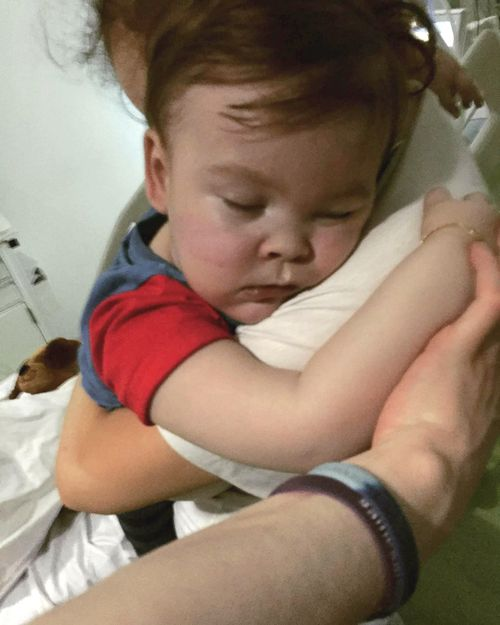 Alfie battled with an undiagnosed degenerative brain disease since 2016 that doctors said they could offer no more treatment for earlier this month. Picture: AAP.