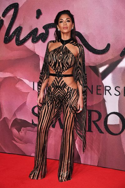 Nicole Scherzinger in Julien Macdonald