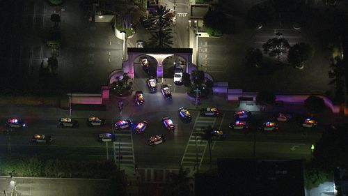 Police swarm Paramount Pictures in Hollywood after reports of a shooting