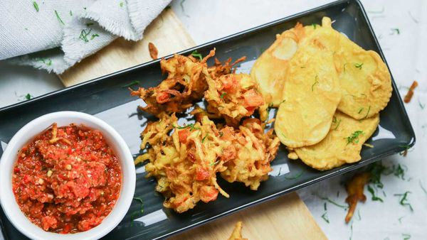 The Samadi's Vegetable Pakora
