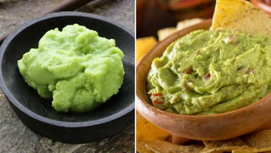 Wasabi / avocado (guacamole)