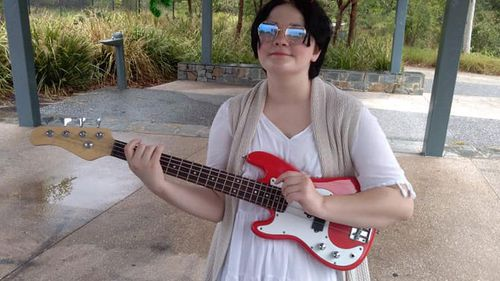 Carys, who plays multiple instruments as well as being a talented singer/songwriter, is hopeful she will go back into remission.