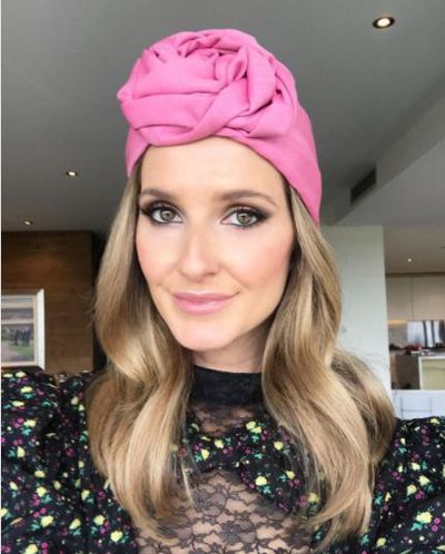 <p>Australia's biggest stars are putting the final touches to their outfits, applying one more layer of mascara and adding just a little more lipstick before heading to the track for the race that stops a nation - the Melbourne Cup.</p> <p>So far we're seeing plenty of pink and in every shade. We're talking everything from bold fuchsia to barely-there blush and we're loving all of it starting with this gorgeous Gucci turban worn by the super stylish Kate Waterhouse.</p> <p>Click through for a sneek peek of our favourite celebrities before they hit the track.</p>