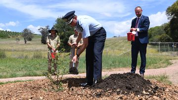 Australian Federal Police mark 100th anniversary