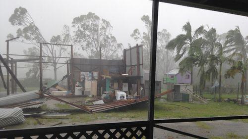 Queensland town of Yeppoon left reeling from Cyclone Marcia's 'graze'