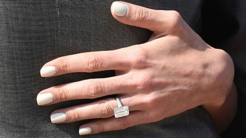 The ring. (Getty Images)