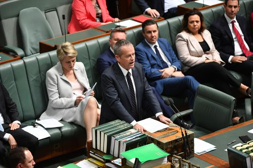 Opposition Leader Bill Shorten has targeted Prime Minister Scott Morrison for the second day in a row over the recent Liberal Party spill that ended Malcolm Turnbull's leadership.