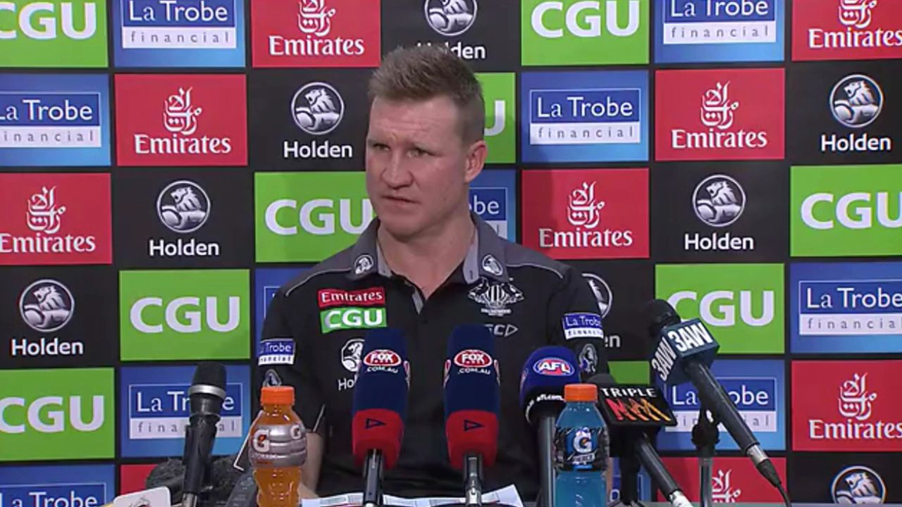 Buckley said he hopes to still coach Collingwood