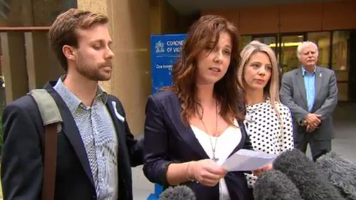 """""""We need to treat domestic violence as a wide-spread insidious crime,"""" the victim's daughter said. (9NEWS)"""