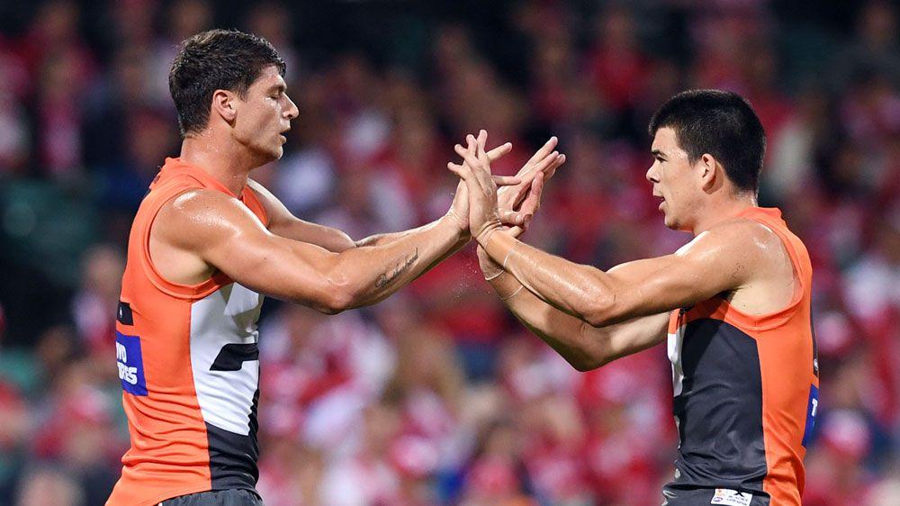Giants smash Swans in Sydney AFL derby