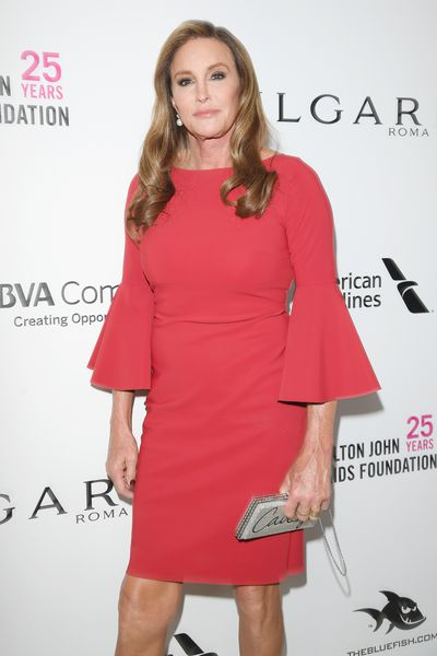 Caitlyn Jenner at Elton John's 2018 Oscars Viewing Bash in honour of the Elton John AIDS Foundation