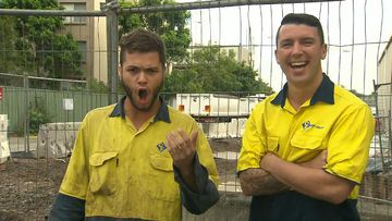 The Singing Tradie