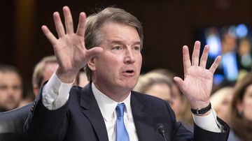 Brett Kavanaugh testifies before the Senate.
