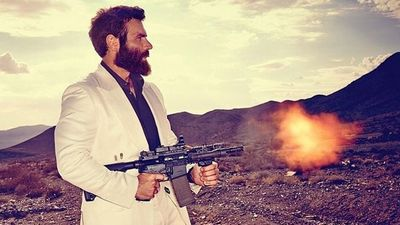 "<p>Dan Bilzerian, aka ""The internet's most hated man"", was banned from a photo sharing app Snapchat within six hours of joining the service. </p><p> The infamous gun-toting, poker-playing playboy launched his account under the username 'danbilzerian' on Thursday. </p><p> ""I did my first snapchat (danbilzerian), i hope nudity is allowed or my snapchat career will be short lived,"" Bilzerian wrote on Twitter. </p><p> Bilzerian soon found out that nudity is not allowed, with a photo of a model's bare breasts alongside a gun reportedly just one of a string of photos sent that fell outside the app's guidelines. </p><p> ""Snapchat's community guidelines expressly forbid ""pornography,"" a broad term that gives them plenty of leeway to squelch undesirable content,"" The Daily Dot reports. </p><p> The bearded and buff Bilzerian, 34, is known for his self-publicised outlandish antics, usually involving models, firearms, muscle cars, planes, boats, or a combination of all the above, and broadcasting them on his Instagram page to his 6.7 million followers. </p><p> He has suffered three heart attacks, allegedly as a result of cocaine use, and fallen foul of the law a number of times, having thrown a pornographic actress off a roof, breaking her foot, and arrested for carrying bomb-making materials at Los Angeles Airport. </p><p> Click through to read up other shockingly extravagant moments from Dan Bilzerian's Instagram account. </p><p></p>"