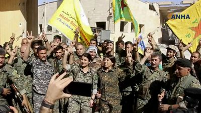 US military says IS 'capital' of Raqqa nearly freed