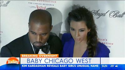 Kim Kardashian reveals third baby name for new little girl