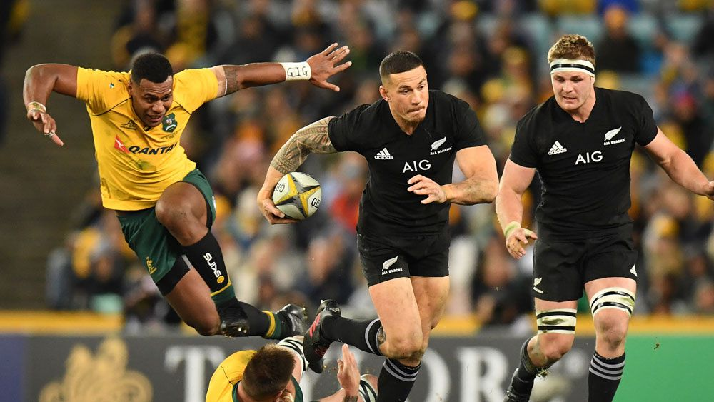 Bledisloe Cup 2017: Wallabies thrashed by All Blacks at ANZ Stadium