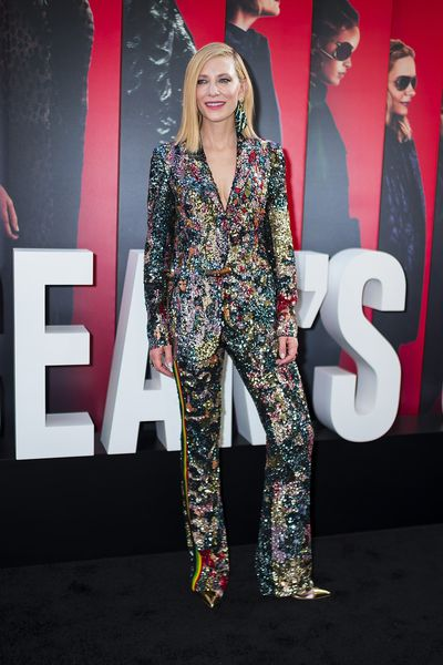 Cate Blanchett in Missoni at the New York City premiere of <em>Oceans 8</em>