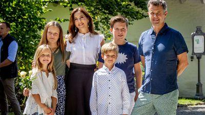 The Danish Royal family, 2018<br />