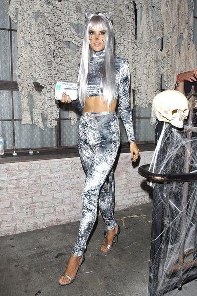 Victoria's Secret model Alessandra Ambrosio as an Ice Queen, 2011