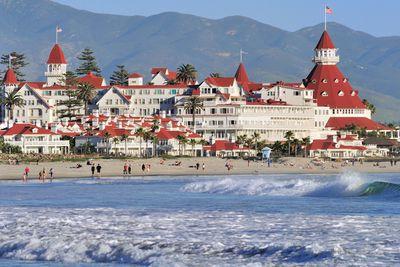 <strong>Hotel del Coronado, San Diego, California</strong>