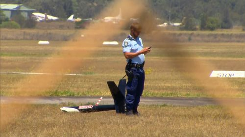 Police will assist the Australian Transport Safety Bureau to investigate the circumstances surrounding the crash.