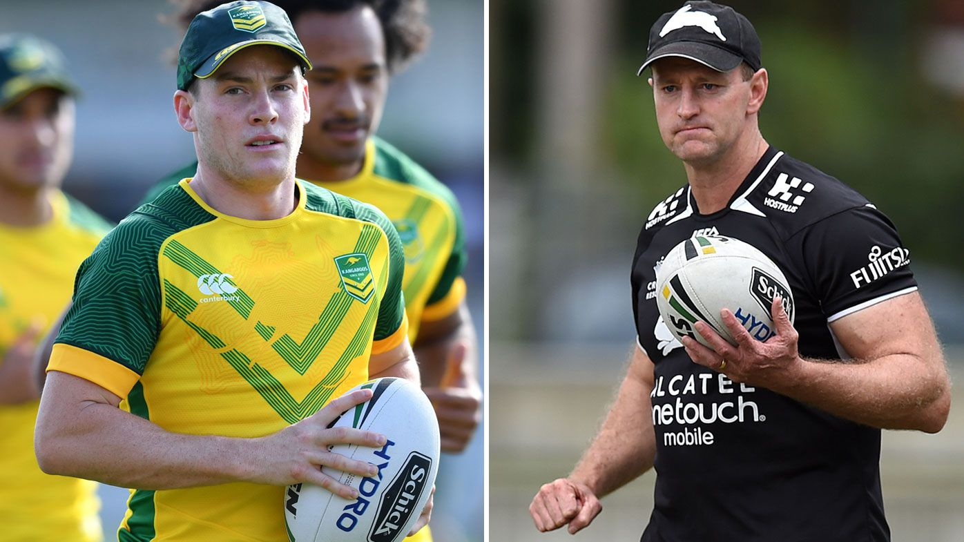 New Zealand coach Michael Maguire denies bad blood with Luke Keary