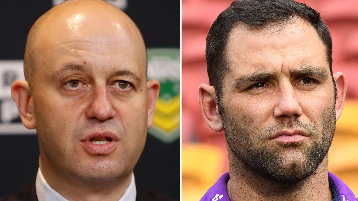 NRL chief executive Todd Greenberg sparks social media campaign to talk the game up