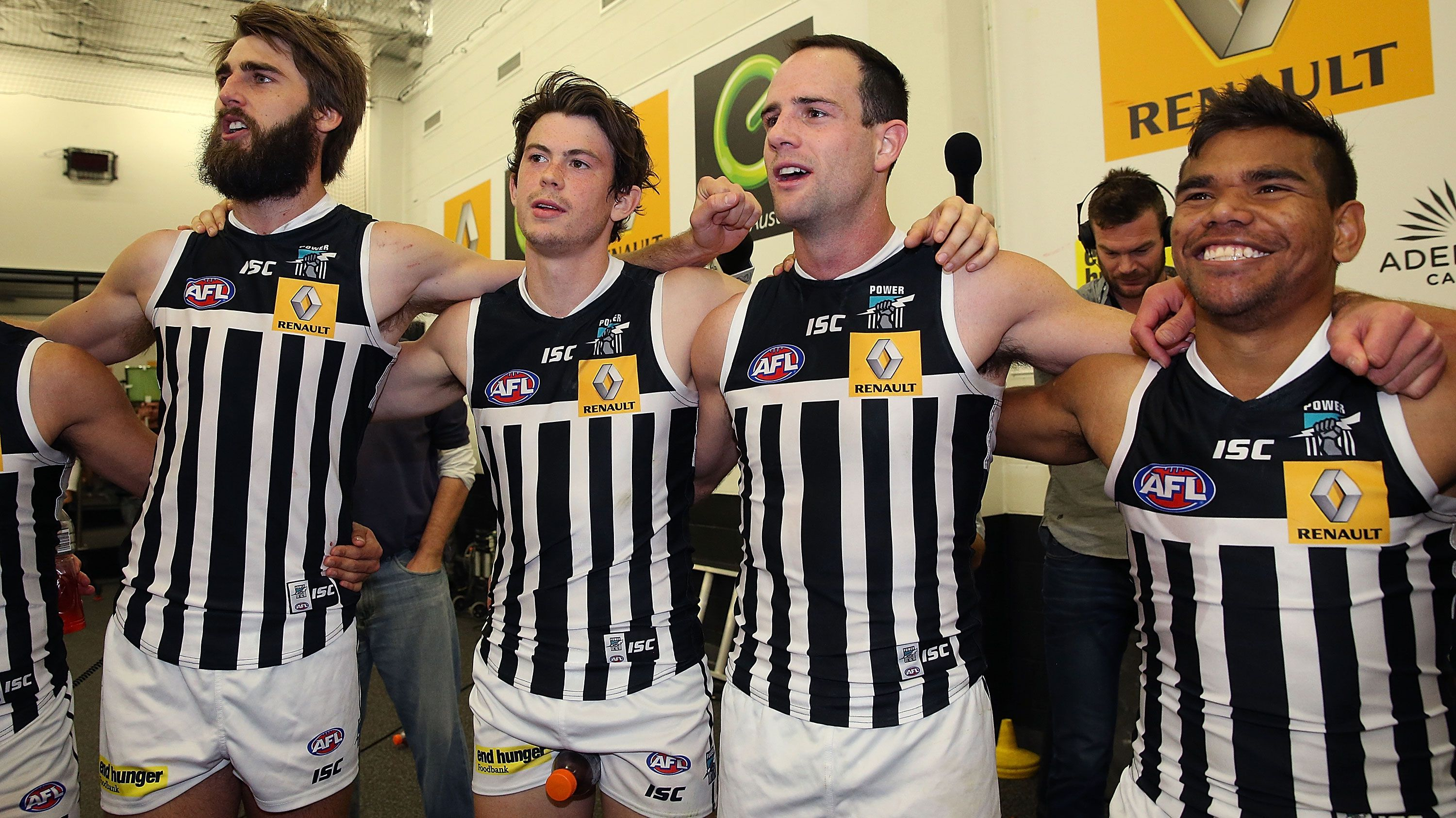 Port Adelaide in their prison bars guernsey.