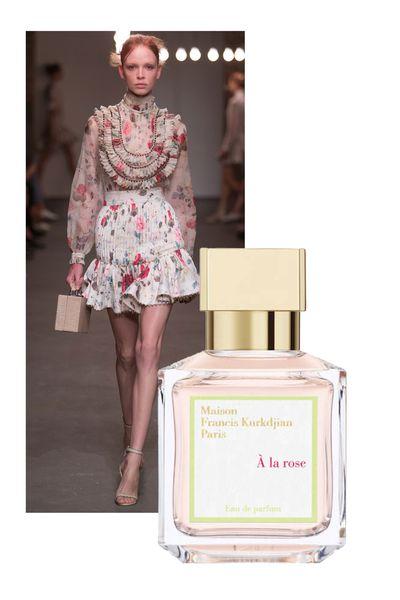 "<a href=""http://mecca.com.au/maison-francis-kurkdjian/a-la-rose-eau-de-parfum/I-020857.html?cgpath=fragrance-personalfragrance#sz=36&start=73"" target=""_blank"">A La Rose, $244 (70ml, EDP), Maison Francis Kurkdjian</a>"