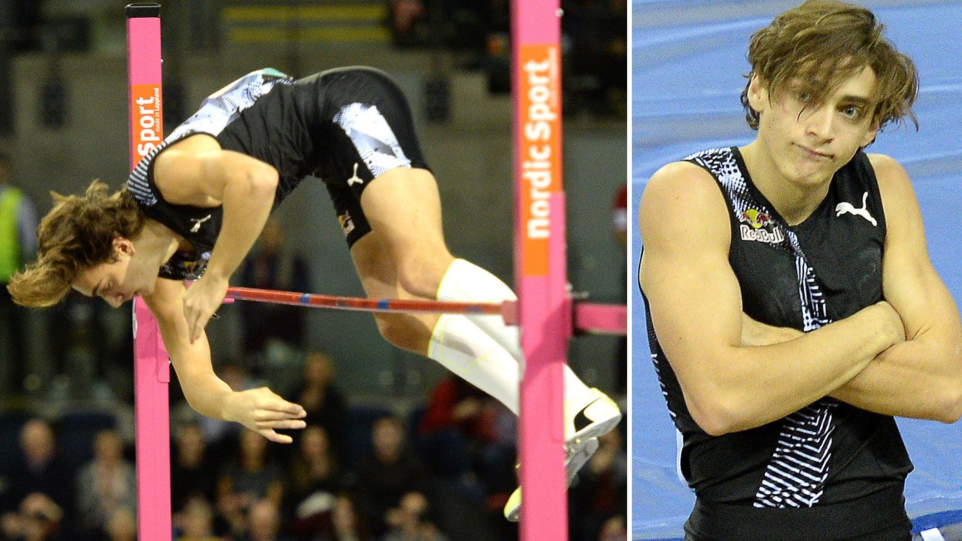 Duplantis breaks pole vault world record again