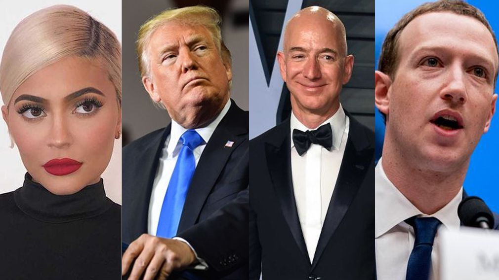 Winners and losers in the Forbes rich list