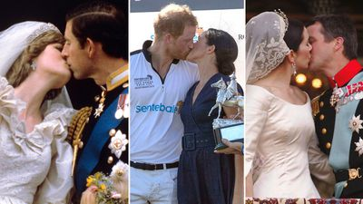 In Photos: Royal Kisses
