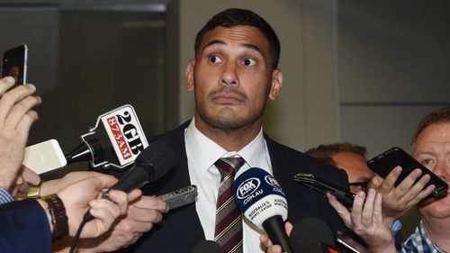 Hodges spoke to media after the verdict was delivered. (AAP)