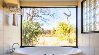 Loos with a view: The NT's most spectacular guest bathrooms