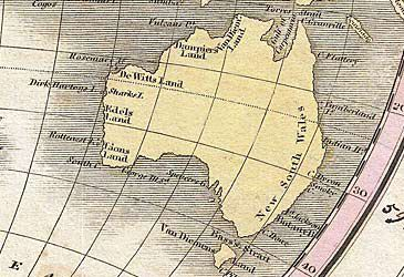 Daily Quiz: What name did Abel Tasman give mainland Australia?