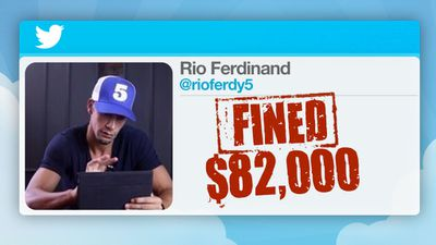 He had to pay a hefty $82,000 fine.