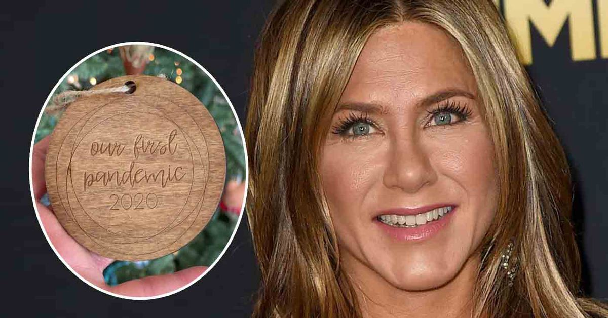 Jennifer Aniston causes controversy with a COVID-themed Christmas ornament – 9TheFIX