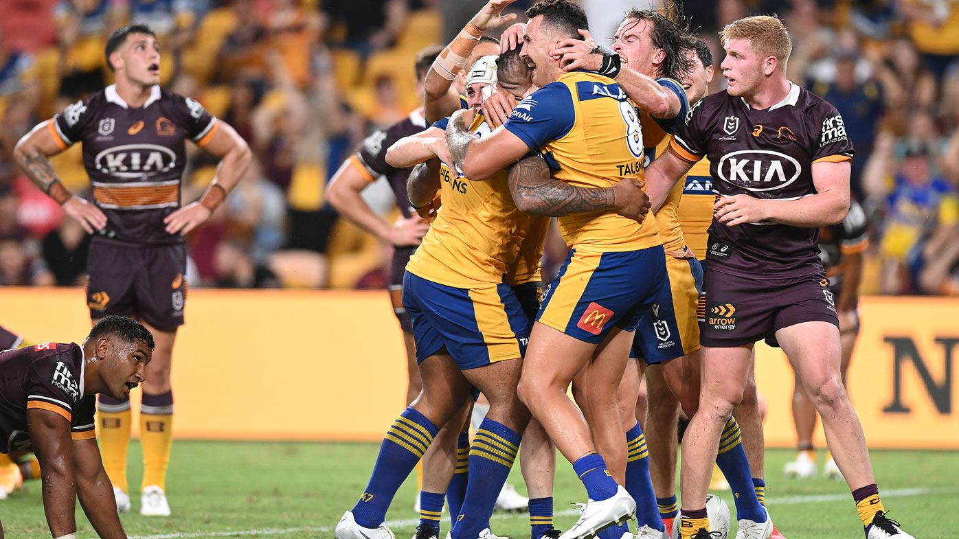 Broncos downed by Eels. (Getty)