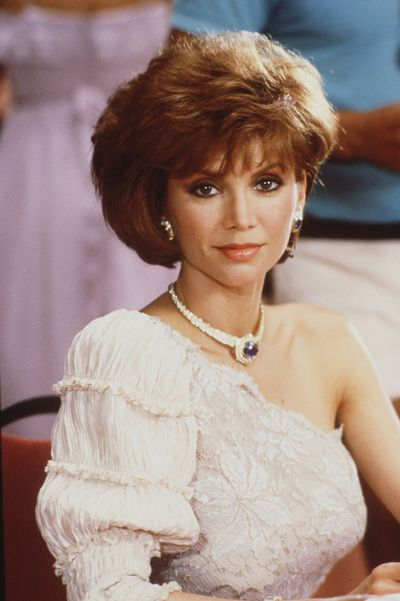 Victoria Principal has the high class version of the assymetrical market that was just as confusing as the storylines on Dallas, where she played Pamela Ewing in 1984.