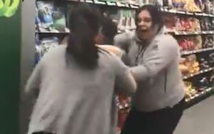 Mother-daughter duo in toilet paper fight plead not guilty