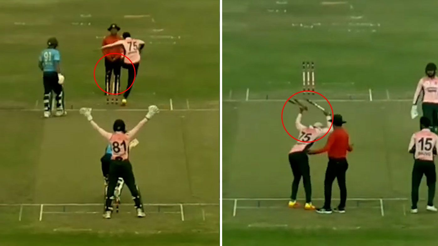 'Horrendous behaviour': Bangladesh star Shakib Al Hasan's shocking pair of mid-match tantrums at umpire