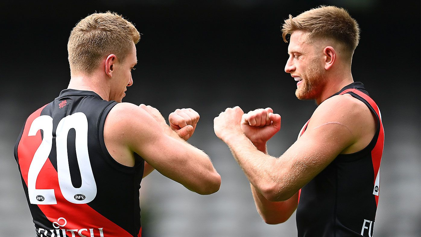 Jacob Townsend stars on debut as Essendon holds off fast-finishing Fremantle in thriller