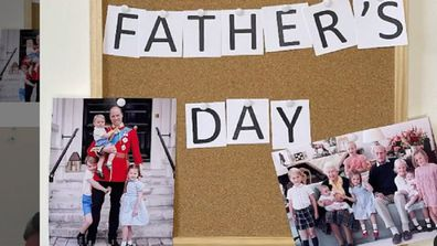 Prince William Father's Day video and photo 2021