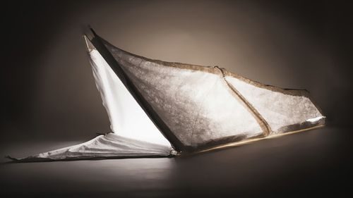 The shelter's other form is as a four-person tent. (RCA)