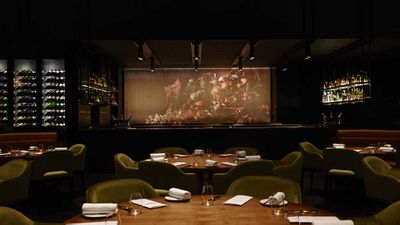 "<strong>Winner Best Restaurant Design 2016 – <a href=""http://www.dinnerbyheston.com.au/"" target=""_top"">Dinner by Heston Blumenthal</a>, Melbourne</strong>"