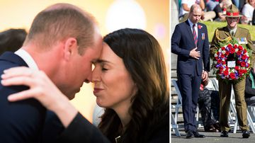 190425 Prince William New Zealand Auckland Christchurch visit Anzac Day Commemorative services