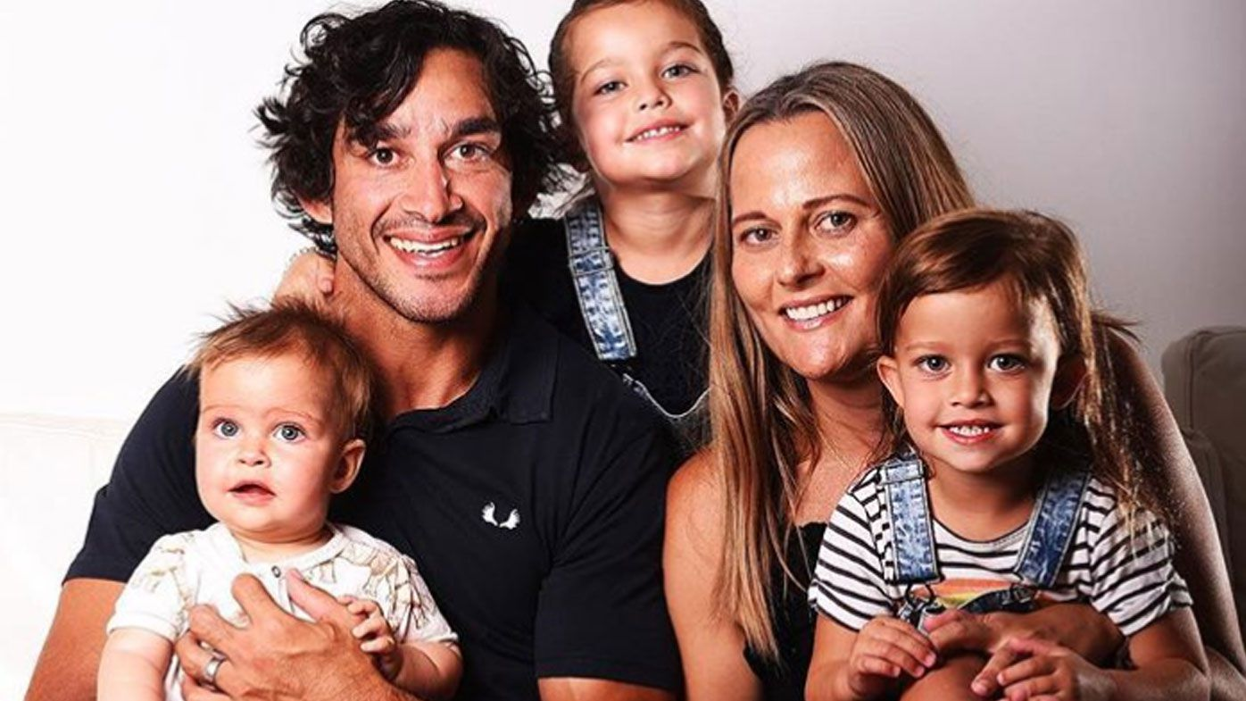 Retiring NRL star Johnathan Thurston announces newest addition to family